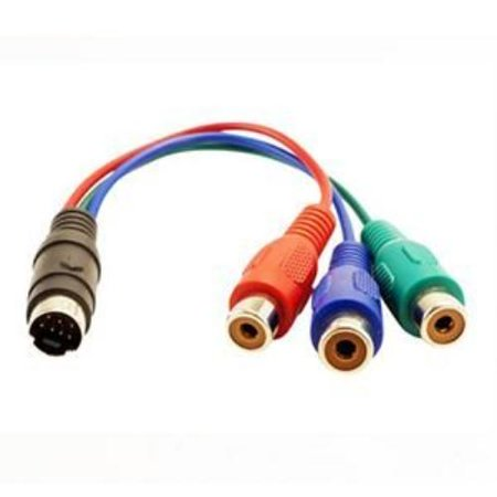 Visiontek 7-pin To Hdtv/component Cable [900660] - S-video/rca For ...