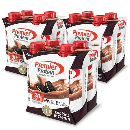 Premier Protein Shake, Cookies & Cream, 30g Protein, 11 Fl Oz, 12
