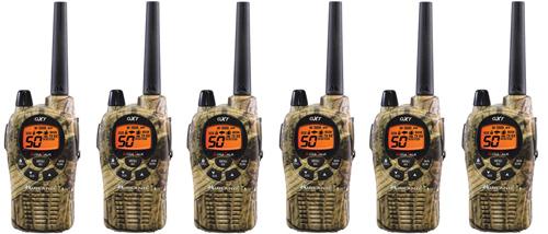Midland GXT1050VP4 Camo (6 Pack) 2Way Radio by Midland