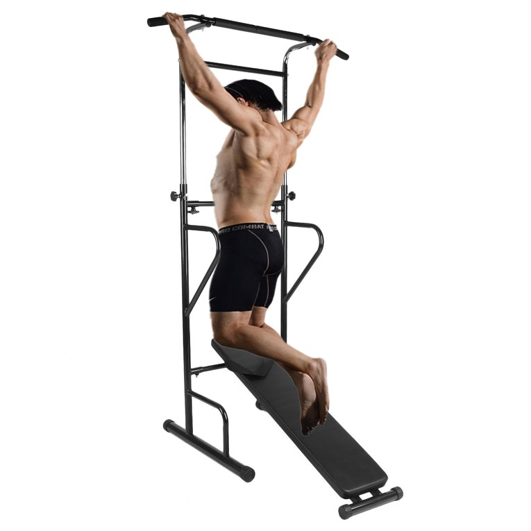Indoor Home Gym Exercise Multifunctional Horizontal Bar Pull-Up Device Fitness Training Equipment Push-Up Station