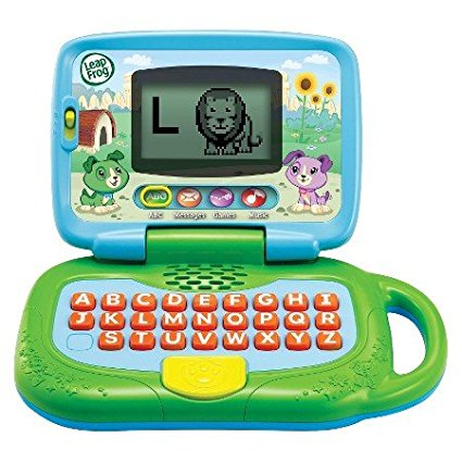 , My Own Leaptop Green, Learn the alphabet, spell kids' names and more By LeapFrog... by
