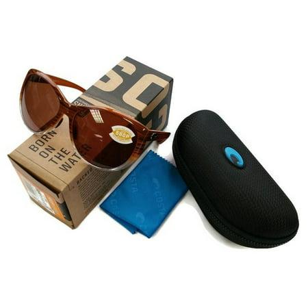d527e4adb5186 COSTA DEL MAR - Costa Del Mar LM81OCP La Mar Brown Frame Copper Lens  Polarized Sunglasses NWT - Walmart.com