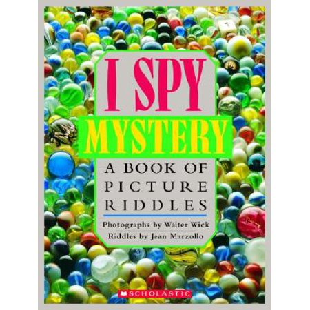 I Spy Mystery: A Book of Picture Riddles (Hardcover)](Halloween Riddles Mysterious Griddlers)