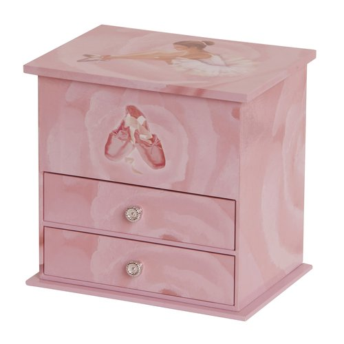 Casey Girls' Musical Ballerina Jewelry Box