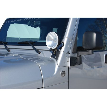 131043 Windshield Light Bracket, Laser cut and formed from heavy gauge material insure a perfect fit every time By
