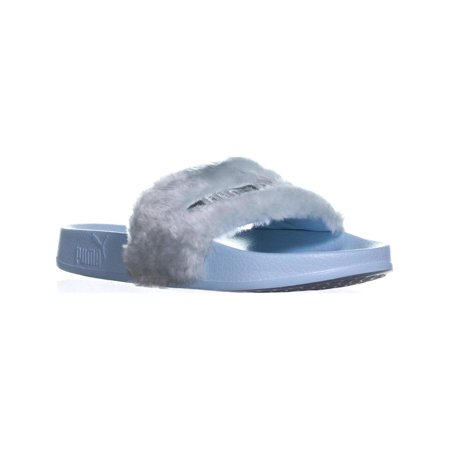 9fad26d69cb PUMA - Womens Pump Fur Slide Sandals