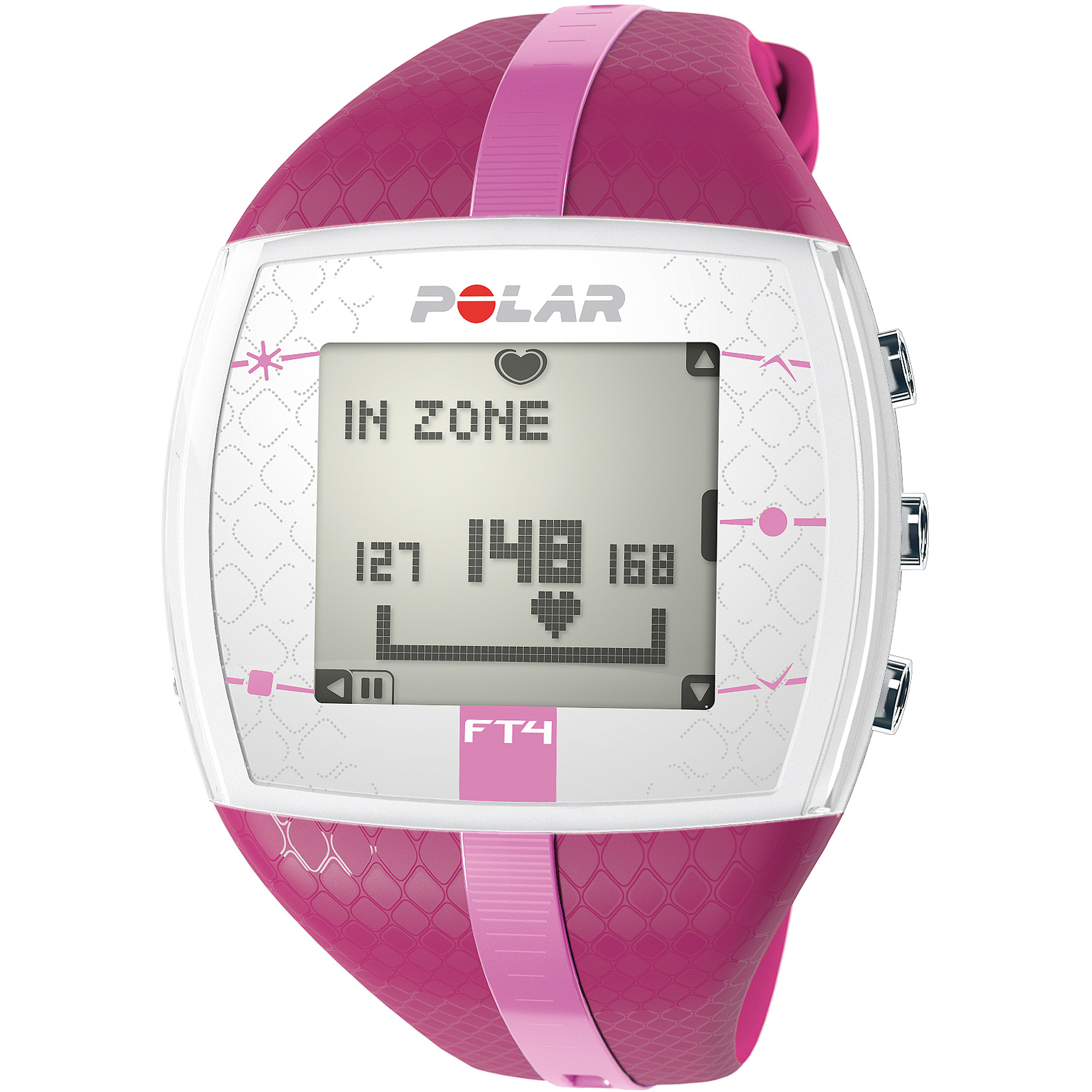 Polar FT4 Women's Heart Rate Monitor Purple/Pink POLAR FT4F PURPLE