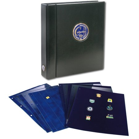 Pin Book - Collecto Premium w/2 Button Pin Pages