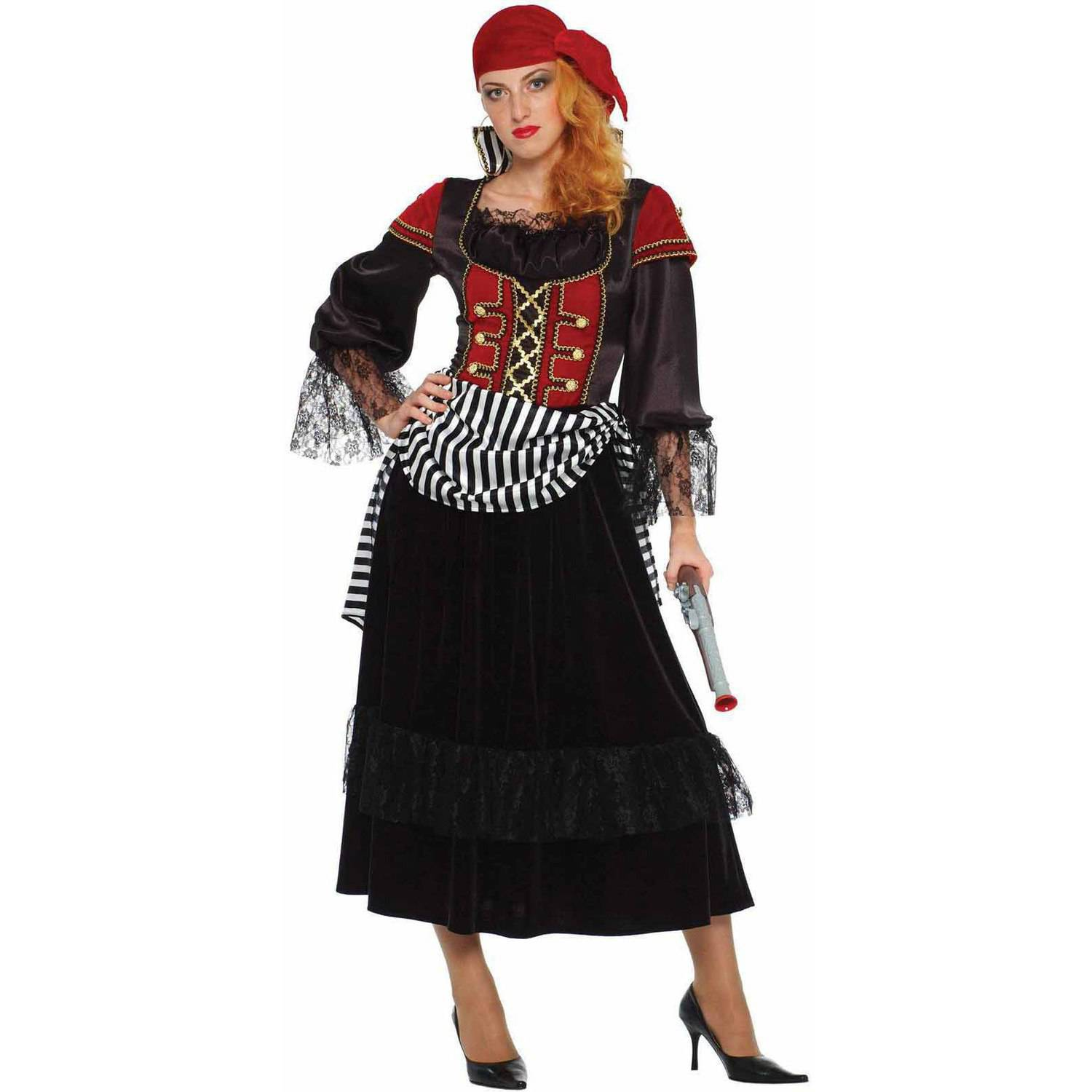 Treasure Pirate Wench Women's Adult Halloween Costume