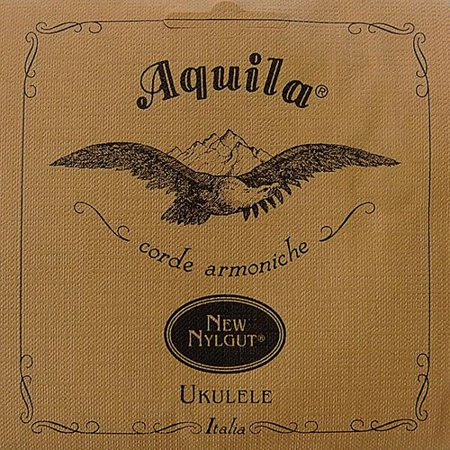 Aquila New Nylgut AQ-4 Soprano Ukulele Strings - High G - Set of