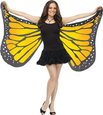 Soft Butterfly Adult Halloween Wings Accessory
