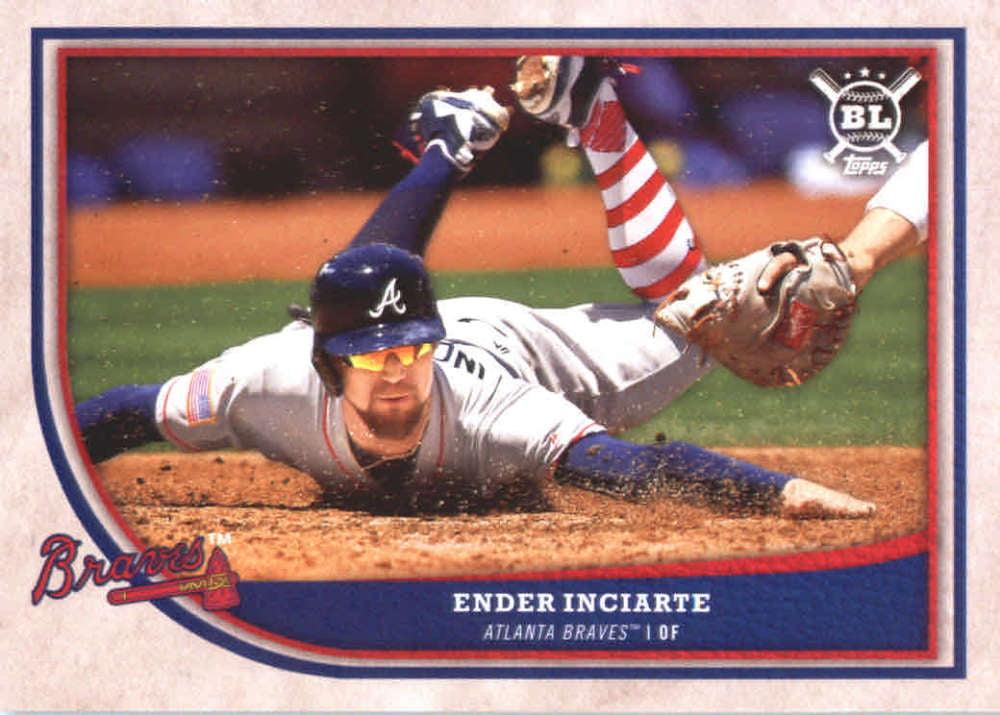 separation shoes 43a00 07c8e 2018 Topps Big League #9 Ender Inciarte Atlanta Braves Baseball Card -  *GOTBASEBALLCARDS