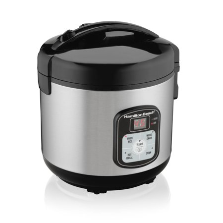 Hamilton Beach 8-Cup Rice Cooker and Steamer, Model# 37519