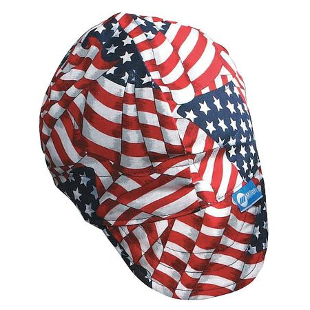 Miller Electric Welding Cap, Red/White/Blue 230558