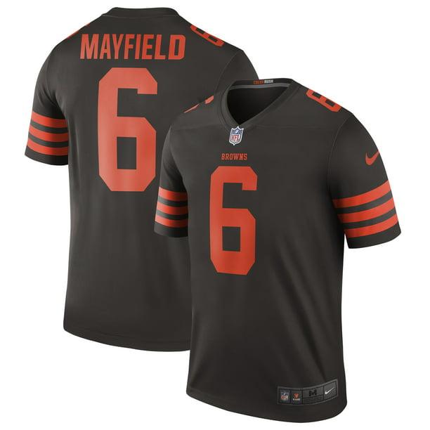 baker mayfield browns jersey nike