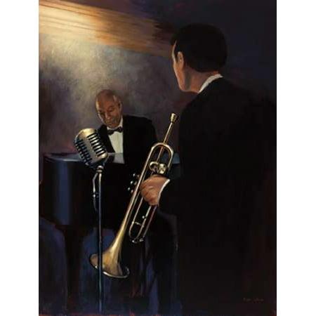 Rhythm Section Rolled Canvas Art - Myles Sullivan (11 x