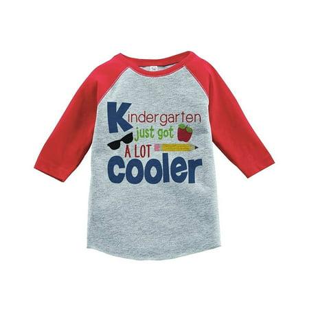 Custom Party Shop Kids Kindergarten School Raglan Tee - (Custom Made Children's Clothing)