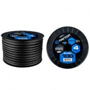 Raptor R4BK4100 100 ft. Mid-Series Power Cable - 4 AWG CCA in Black
