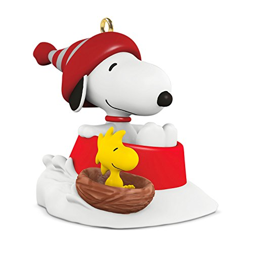 Hallmark Miniature Winter Fun with Snoopy and Woodstock #20 Keepsake Christmas Ornament