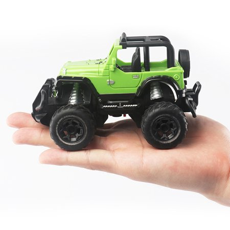 1:43 Mini RC Off-road Cars 4 Channels Electric Vehicle Model Toys as Gifts for Kids Color:blue - image 1 de 5