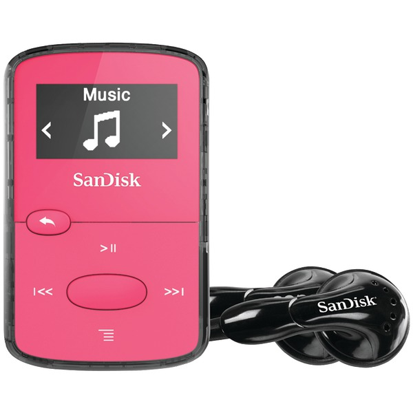 "SANDISK SDMX26-008G-G46P 8GB .96"" Clip Jam(TM) MP3 Players (Pink)"