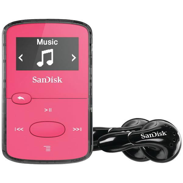 Sandisk Sdmx26-008g-g46p 8 Gb Flash Mp3 Player - Fm Tuner - Battery Built-in - Microsd Card - Aac, Mp3, Wma, Wav, Ogg Vorbis, Audible, Flac - 18 Hour (sdmx26-008g-g46p)