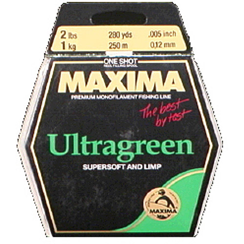 Maxima One Shot Ultragreen Fishing Line