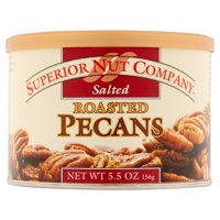 Superior Nuts Roasted Pecans, Salted, 5.5 Oz