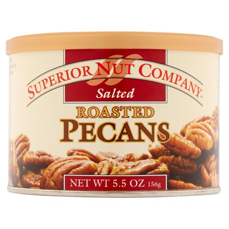 (6 Pack) Superior Nut Roasted Salted Pecans, 5.5 oz