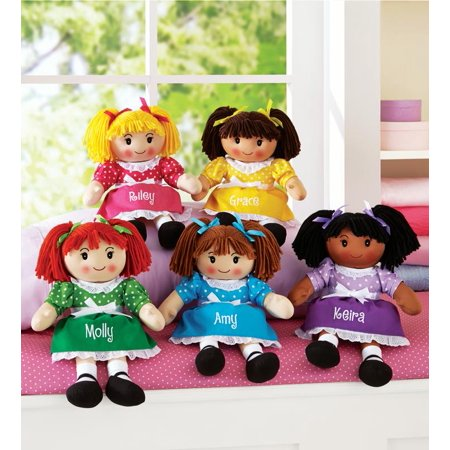 - Personalized Cuddle Time Rag Doll