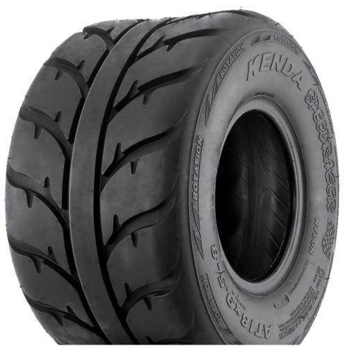KENDA K547 Speed Racer 4-Ply Hard Terrain ATV Rear Tire 2...