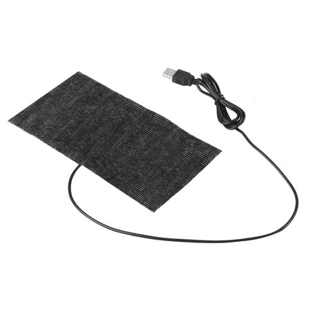 (Heating Pad,5V USB Electric Cloth Heater Pad Heating Element for Clothes Seat Pet Bed Warmer 35℃-45℃ Mouse Pad Warm Blanket,USB Electric Cloth Heater)