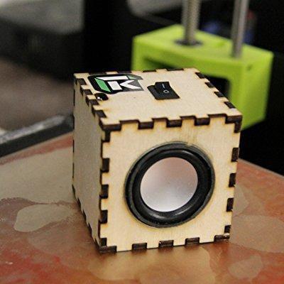 kitables bluetooth speaker diy kit - build your own portable