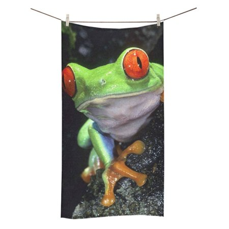 MKHERT Cute Frog Bath Towel Shower Towel Wash Cloth Face Towels 16x28