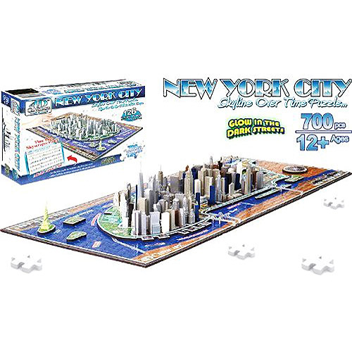 4-D New York City Skyline Time Puzzle by 4D CityScape