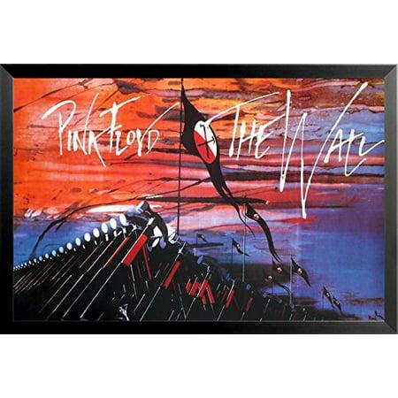 Buyartforless Framed Pink Floyd Marching Hammers The Wall 1979 36X24 Music Art Print Poster