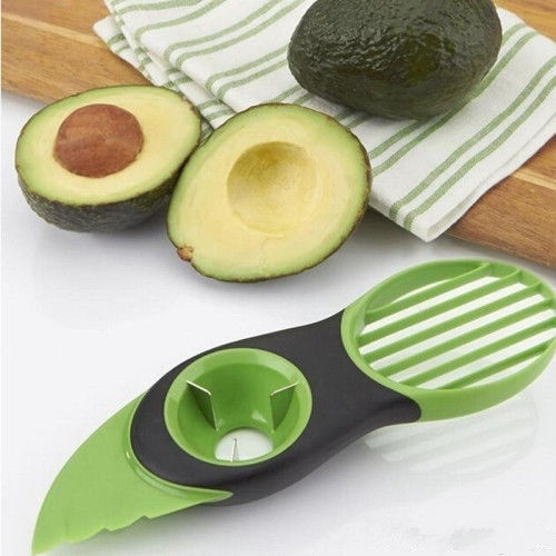 Costyle Avocado Slicer Splits Slices Blade Pitter 3-in-1 Kitchen Kit Tools