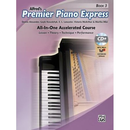 Premier Piano Express  All In One Accelerated Course  Book  Cd Rom   Online Audio   Software