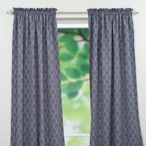Brite Ideas Living Oh Gee Single Curtain Panel