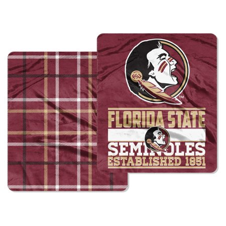 Florida State Seminoles The Northwest Company 60'' x 70'' Homefield Cloud Throw - No Size Fleece Florida State Seminoles Blanket