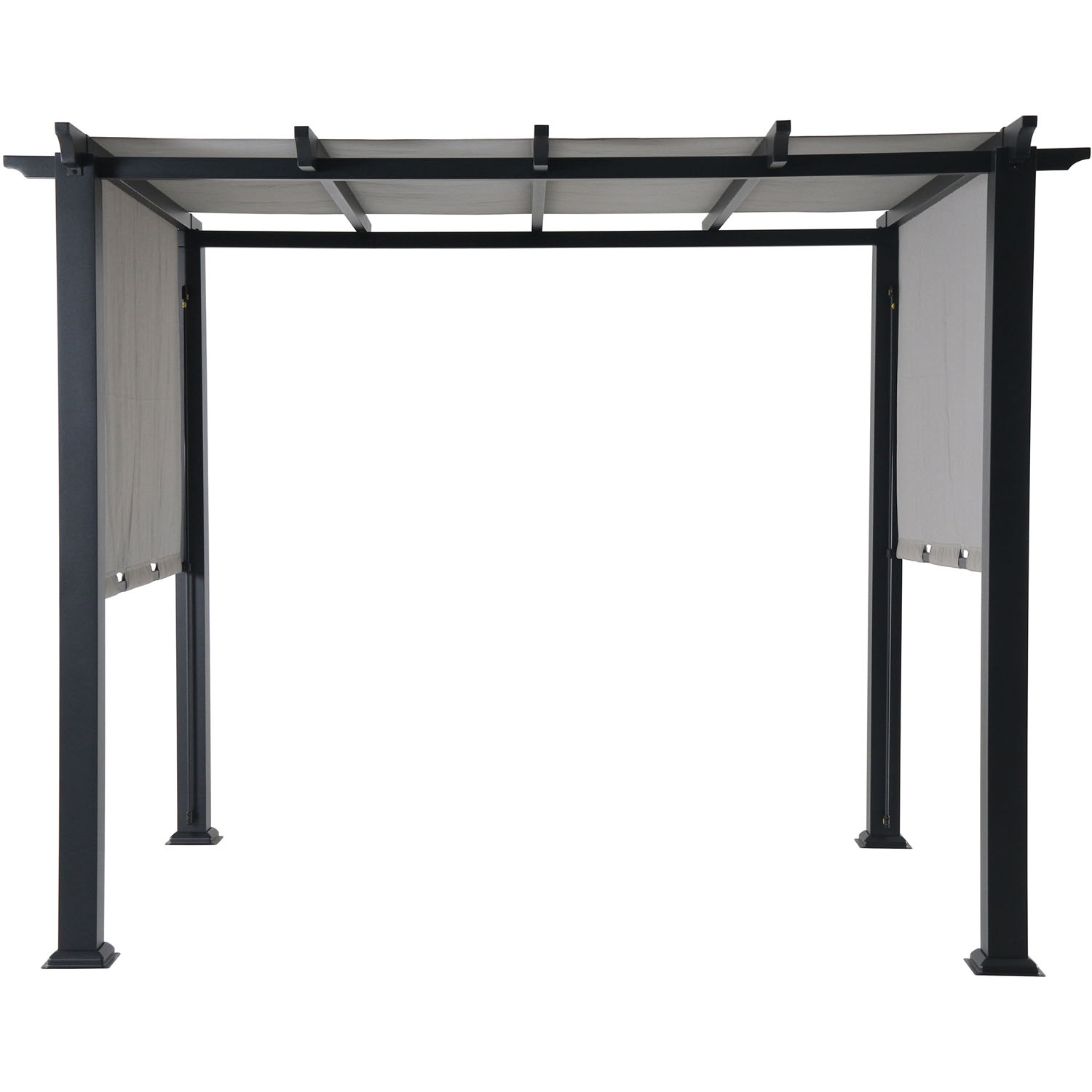 Hanover Hanover 8 x 10 Ft. Metal Pergola with an Adjustable Gray Canopy