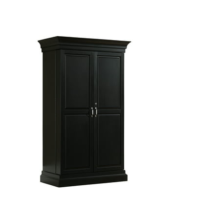 Angelina Wine and Spirit Cabinet in Black