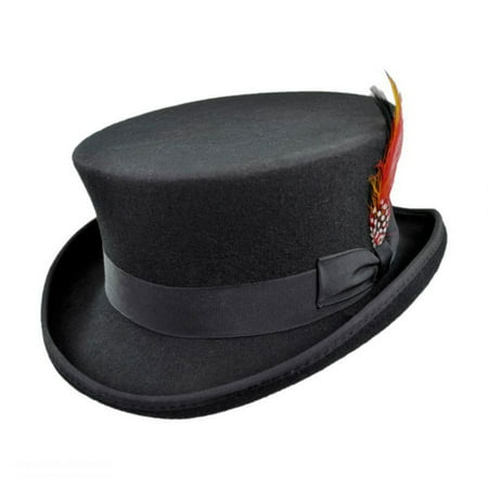 Deadman Wool Felt Top Hat - XXL - Black