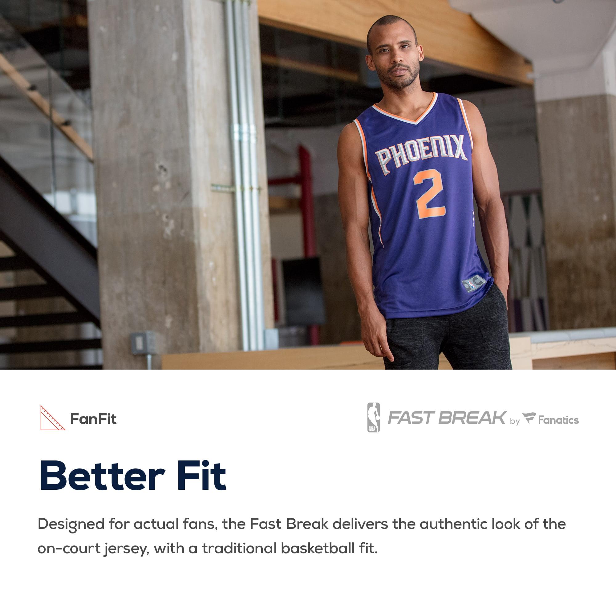 b87ecb9e2 Devin Booker Phoenix Suns Fanatics Branded Fast Break Replica Jersey Purple  - Icon Edition - Walmart.com