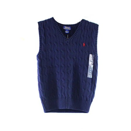 a10aee1722c9 Ralph Lauren NEW Blue Navy Baby Boy s Size 6 Months Cable-Knit ...