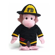 Gund Curious George Fireman Plush