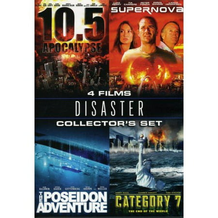 Disaster Collector's Set: 10.5 Apocalypse / Supernova / The Poseidon Adventure / Category 7: The End Of The