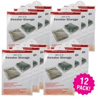 innovative Home Creations Sweater Storage Bags 2 Count, Multipack Of 12
