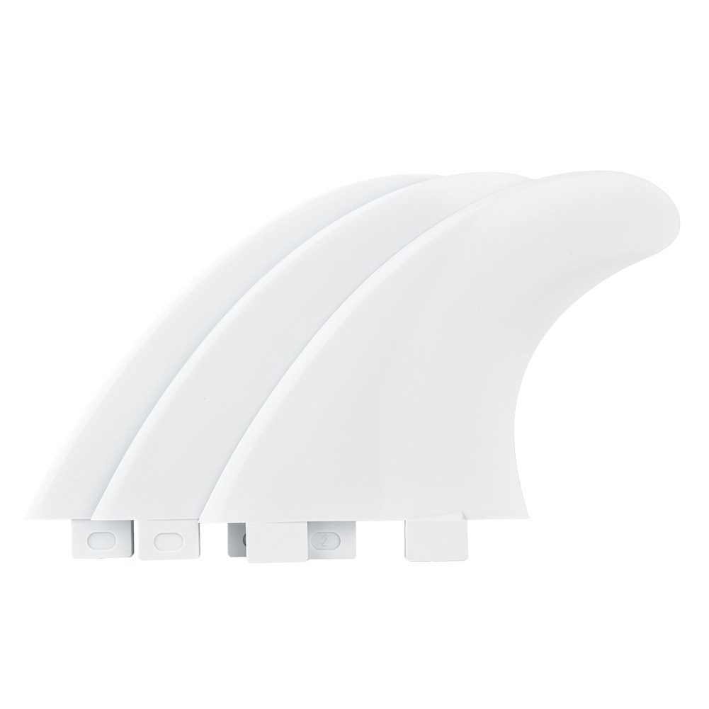 FCS G5 Tri Fin Thruster Set Single Head Surf Fin Surfboard Carbon Nylon Plastic