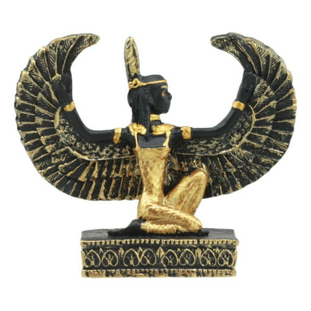 Ebros Egyptian Classical Deities Miniature Figurine Gods Of Egypt Dollhouse Miniature Statue Legends Of Ancient Egypt Educational Sculpture Collectible (Maat Goddess Of Justice)